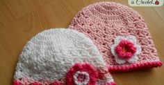 Crochet lacy shell stitch hat for toddler girls -  Free Crochet Pattern& Photo Tutorial with step by step pictures by Myhobbyiscrochet