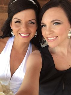 Wedding Hair OWNER RENELLE AND COURTNEY STYLIST