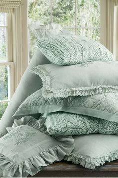 Soft Surroundings is your store for luxurious bedding sets to outfit your bedroom with beauty. Our bedding collections are inspired by vintage bedding with plush fabric & gorgeous detail.