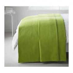 Покрывало Ikea ИНДИРА Покрывало, ярко-зеленый 250*250см