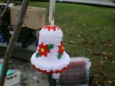 Quilling bell for christmas