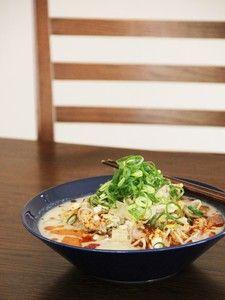 あったかピリ辛!坦々うどん Japanese Noodles, Potato Salad, Cabbage, Food And Drink, Cooking Recipes, Yummy Food, Pasta, Snacks, Meals