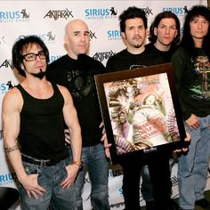 I'm listening to Anthrax on AOL Radio. You should too.