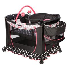 MINNIE MOUSE Coral Flowers Care Center™ Play Yard from Safety 1st