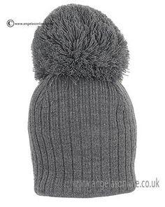 Satila Hat Park Grey. Satila baby woolly hats. Satila grey bobble hat. Satila baby boy hats. Satila winter 2015 newborn baby boy hats. Satila grey knitted hats.