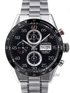 TAG Heuer Carrera Calibre 16 Day Date Automatic Chronograph Must