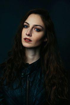 portrait idea - all black