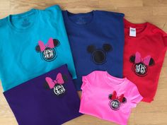 Disney Inspired Mickey Minnie Swirl Head by EBpolkadotsandmore