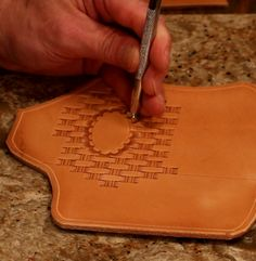 Craving more tips from our leathercraft experts? We've got the goods right here! Learn how to achieve beautiful, professional results with a camouflage tool in a few easy steps: http://www.weaverleathersupply.com/learn/how-to-videos/tools/stamping-leather-with-a-camouflage-stamping-tool