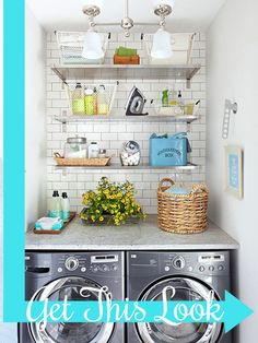 Create a luxury laundry room for yourself with these fun tips!