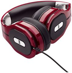 PSB M4U 1 Over-Ear Audiophile Headphones with Remote & Mic (Red)