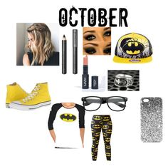 BATMAN ALL THE WAY by cherishhill89 on Polyvore featuring polyvore, moda, style, Converse, Topshop, Burberry, INC International Concepts, fashion, clothing and batman