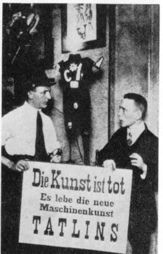 L'art és mort. George Grosz, Wieland Herzfelde, Johann Herzfeld. 1918. Berlín