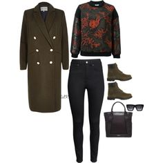 Zo by sheraineleeanna on Polyvore featuring Kenzo, River Island, H&M, Timberland, Balenciaga and CÉLINE