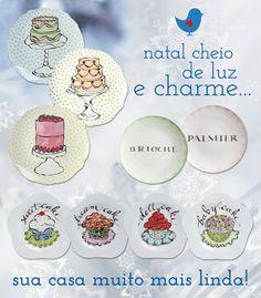 Para um Natal de muito Charme e Luz.