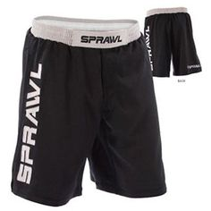 Other Combat Sport Clothing 73988: New! Sprawl Fusion Shorts (28) - Black Bjj, Mixed Martial Arts, (Mma), Ufc, Rare BUY IT NOW ONLY: $49.99