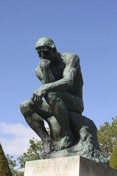 Rodin's The Thinker, Paris, France