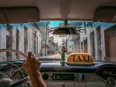 Retro Ride Your Shot member Lorraine Yip offers a glimpse of historic Camagüey Cuba from the inside of a 1950s Chevrolet Bel Air. A UNESCO World Heritage site the city settled in its current location in 1528 was one of the first Spanish settlements to be founded in Cuba.  Yip's shot was recently featured in the Daily Dozen.  This photo was submitted to Your Shot our storytelling community where members can take part in photo assignments get expert feedback be published and more. Join now…