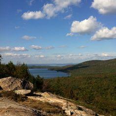 Bubble Rock, Acadia National Park, Maine.