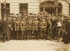 National Army troops outside Cruise's Hotel in Limerick... by National Library of Ireland on The Commons, via Flickr July 1922
