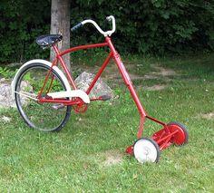 exercise mower