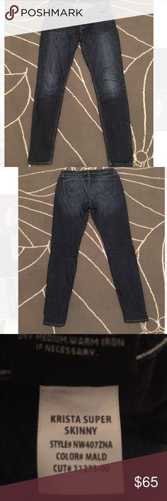 Hudson Krista Super Skinny jeans Super cute and comfy! Hudson Jeans Jeans Skinny