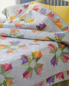 Sweet Pea Sonata Quilt Pattern Pieced/Paper Pieced TE