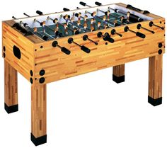 Amazon.com : Imperial 14-Inch Butcher Block KD Foosball Table : Sports & Outdoors