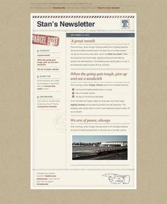 10 Excellent Email Newsletter Templates For Free Download