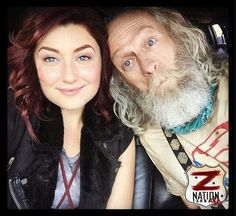 Doc is adorable for an old man, he has to be my favorite character [other than 10k and ofc Murphy]. I think if he died I'd stop watching Z Nation.