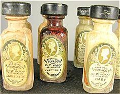 Mortuary Makeup Jars from via Dolly Macabre Makeup Jars, La Danse Macabre, Post Mortem Photography, Vintage Medical, Memento Mori, Medical History, Creepy, The Cure, Death