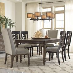 Belmeade Rectangular Dining Table by Riverside Furniture at Furniture and ApplianceMart 7 Piece Dining Set, Dining Room Sets, Dining Table Chairs, Tables, Family Furniture, Dining Room Furniture, Home Furniture, Furniture Stores, Riverside Furniture