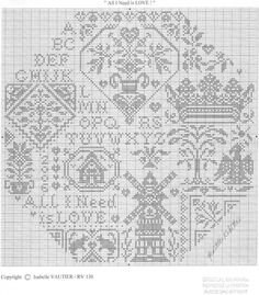 "Photo from album ""Quaker Embroidery (Вышивка квакеров)"" on Yandex. Cross Stitch Sampler Patterns, Free Cross Stitch Charts, Cross Stitch Freebies, Cross Stitch Pillow, Cross Stitch Alphabet, Cross Stitch Samplers, Cross Stitch Designs, Cross Stitching, Cross Stitch Embroidery"