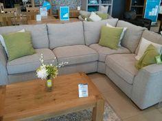 Nice 'Henley' corner sofa from bhs Grey Sofa Living Room, Gray Sofa, Sofa, Furniture, Living Room Sofa, Sectional Couch, New Living Room, Room, Corner Sofa