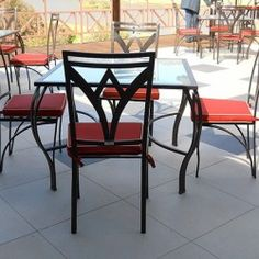 selection of some of our beautiful outdoor patio furniture made with your relaxation in mind. Iron Furniture, Furniture Styles, Furniture Making, Outdoor Furniture, Outdoor Decor, Summer Crafts, Wrought Iron, Commercial, Relax