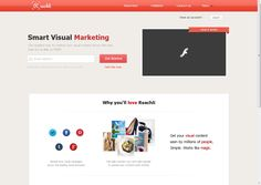 Reachli - The easiest way to market your visual content across the web - Social Media Marketing, Advertising, Marketing Online, Advertising Online, Social Media Analytics - Pinterest, Facebook, Instagram, Tumblr, Twitter