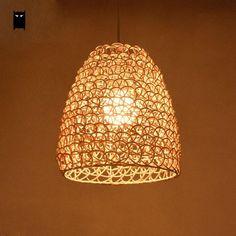 New Modern Chandelier Ceiling Fixture Pendant Light Wedding Hallway Lamp Bamboo.