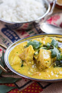 Quick Fish Curry. A great curry for a busy night.