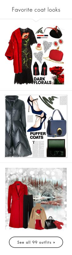 """Favorite coat looks"" by deborah-518 ❤ liked on Polyvore featuring Lela Rose, Dolce&Gabbana, Yves Saint Laurent, Christian Dior, House of Fraser, Charter Club, Surratt, TATRAS, Marni and Manolo Blahnik"
