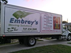"At Embrey's Moving Solutions ""We Move Tampa Bay!"""