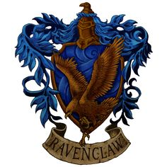 Ravenclaw crest by Kerby Rosanesdone (960×960)
