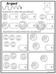 Ces temps-ci, j'aborde les nombres décimaux avec mes élèves en manipulant l'argent. Les élèves ont énormément manipulé les différentes pièc...