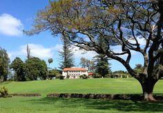 The beautiful old Hui Noeau Estate on Baldwin Ave., Makawao Maui