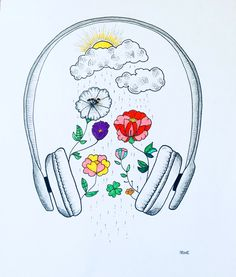 So fühlt es sich an, Rex Orange County und Mac DeMarco - Elif . Hipster Drawings, Music Drawings, Cool Art Drawings, Pencil Art Drawings, Art Drawings Sketches, Easy Drawings, Cute Drawings Tumblr, Couple Drawings, Art Illustrations