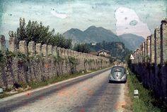 Unterwegs im Oval. Volkswagen Käfer. http://autostolz.formfreu.de/2015/11/21/unterwegs/