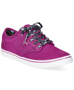 Vans Women's Atwood Low Lace-Up Sneakers - Sneakers - Shoes - Macy's