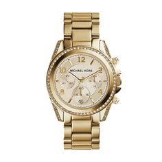 Michael Kors Golden Runway Watch with Glitz MK5166 -- Remarkable product available now. (This is an amazon affiliate link. I may earn commission from it)