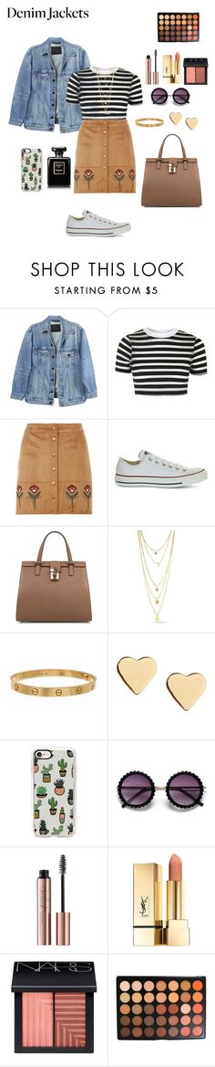"""Untitled #119"" by emmmilyallen ❤ liked on Polyvore featuring Y/Project, Topshop, Dorothy Perkins, Converse, Dolce&Gabbana, Cartier, Lipsy, Casetify, NARS Cosmetics and Morphe"