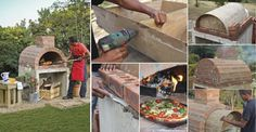 Como hacer tu propio horno casero para pizzas