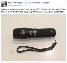 Shadowhawk Tactical Flashlights ~ Women are using these for protection rather than a gun! Over 20,000 sold in a month.